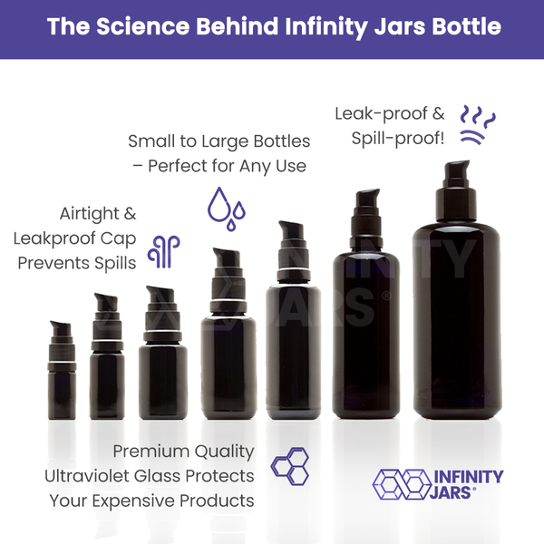 Push Pump 7 Bottle Variety Pack - InfinityJars