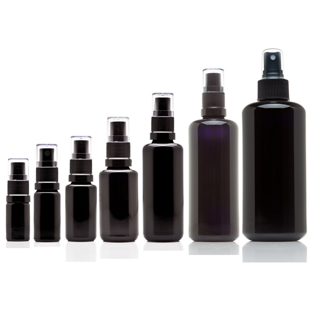Fine Mist Spray Glass Bottle Variety Pack - InfinityJars