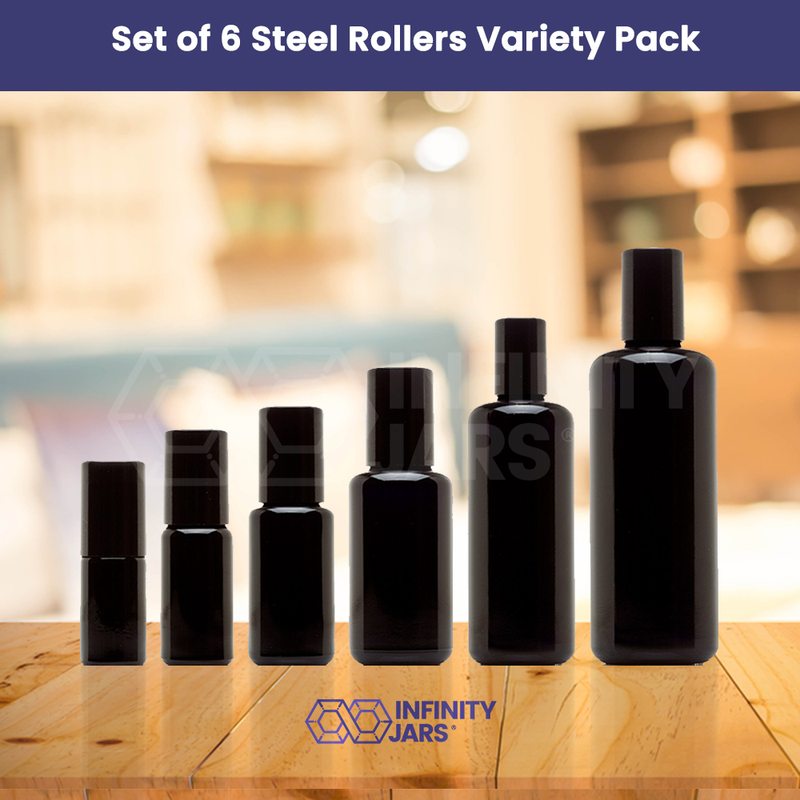 Steel Roller 6 Bottle Variety Pack - InfinityJars
