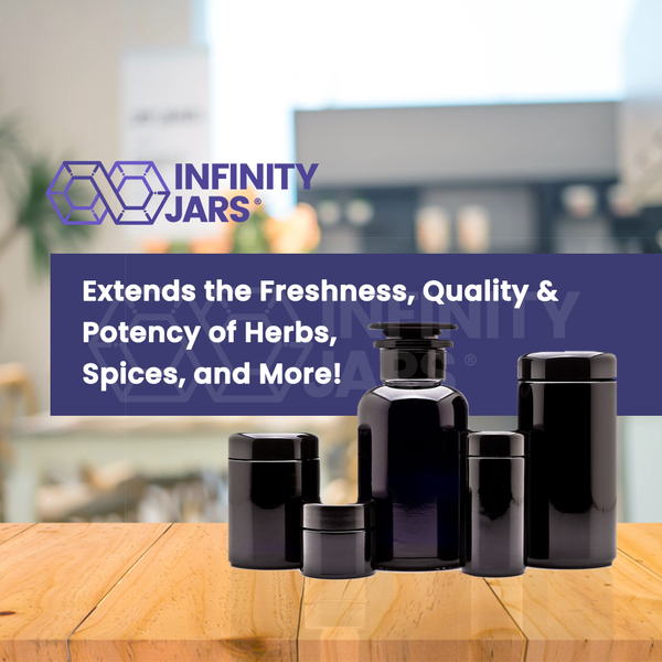500ml Apothecary & 50ml-500ml Screw Top Variety Pack - InfinityJars