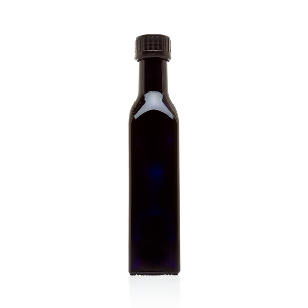 250 ml Square Glass Bottle with Oil Spout