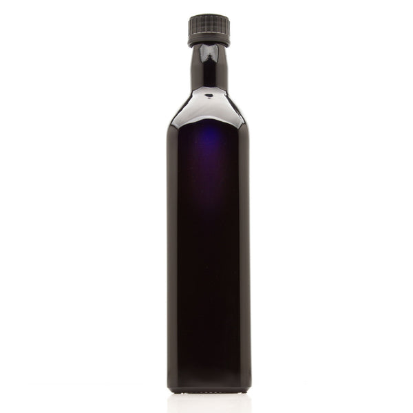 750 ml Square Glass Bottle with Oil Spout - InfinityJars