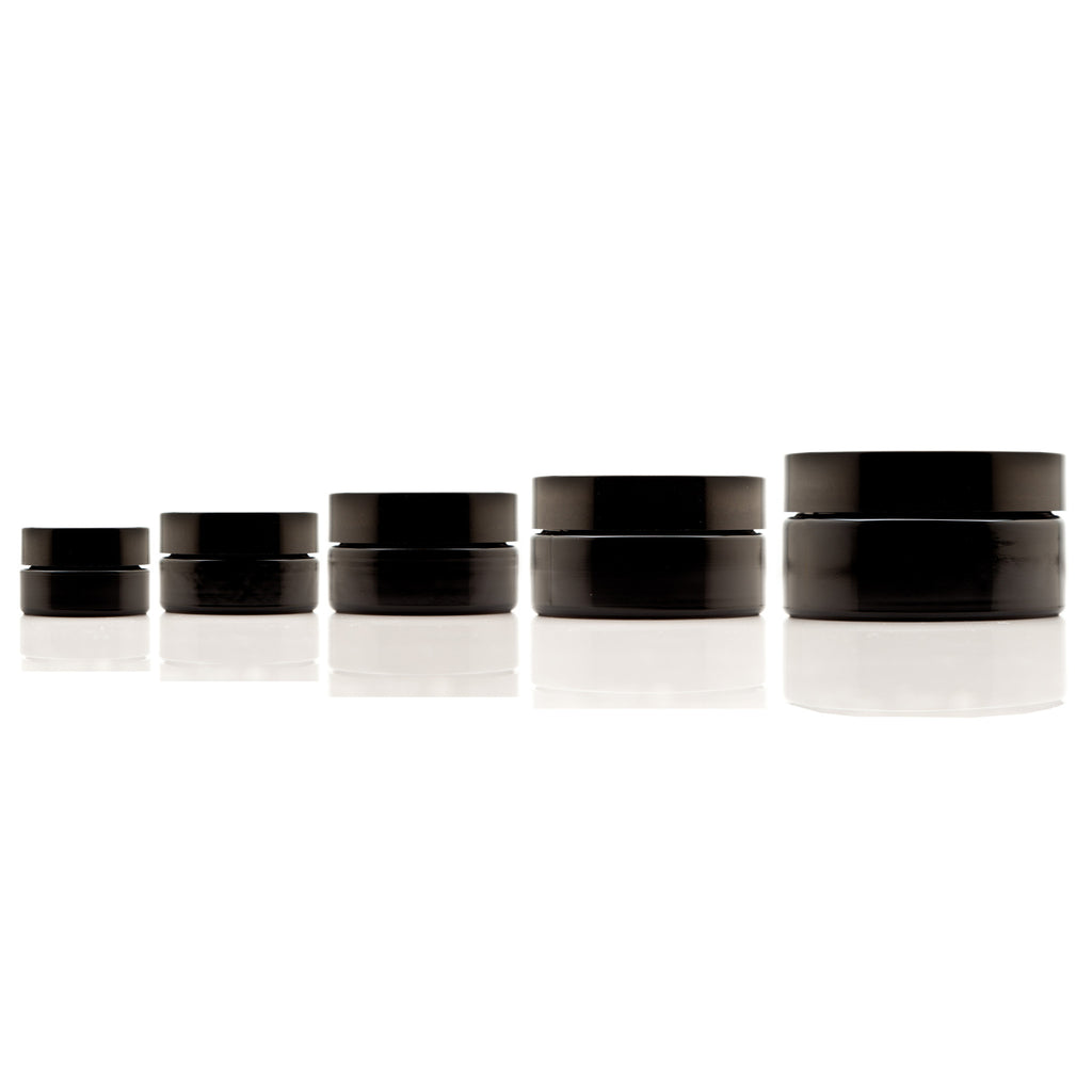 Cosmetic Screw Top Variety Pack (15 ml-200 ml Sizes) - InfinityJars
