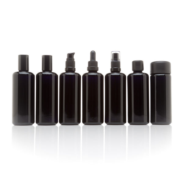 100 ml 7 Bottle Cosmetic Collection - InfinityJars