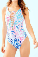 Cross Strappy Monokini One Piece Swimsuit