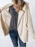 Fashion Solid Hooded Plain Casual Coat