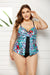 VERONA FAUX FLYAWAY UNDERWIRE TANKINI TOP AND PANTY