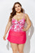 AUBADE CUP SIZED TIE FRONT UNDERWIRE TANKINI WITH SORBET SIDE SLIT SKIRT
