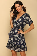 NAVY FLYING COLOURS DRESS