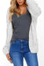 Simple Batwing Sleeves Cardigan Sweaters