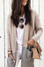 Good Ideas Patchwork Light Tan Cardigan Sweaters