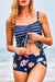 Beachsissi Together With Me Striped Tankini Set
