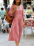 Women Hlaf Sleeves Casual Maxi Dresses