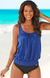 OVERSIZED TANKINI SET——4 KINDS OF COLOR