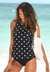 POLKA DOT TANKINI SET