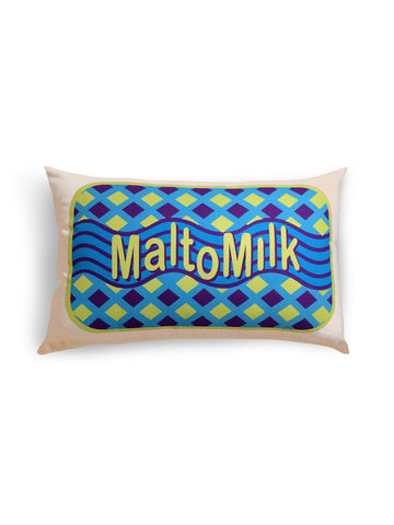 malt o milk cushion