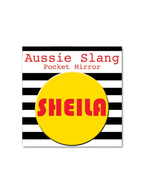 Aussie Slang Pocket Mirror