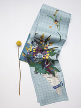 Load image into Gallery viewer, Posy Twill Silk Scarf