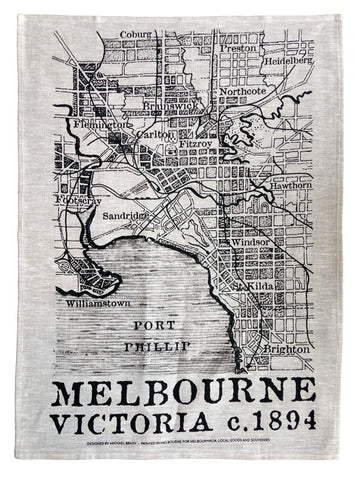 1894 Tea Towel