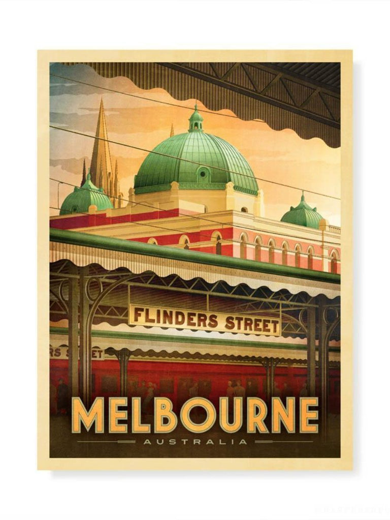 Early Morning Flinders Street Station Print