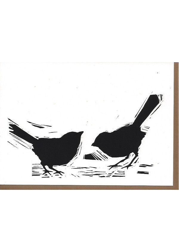 Two birds Card