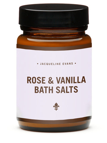 Rose and Vanilla Bath Salts