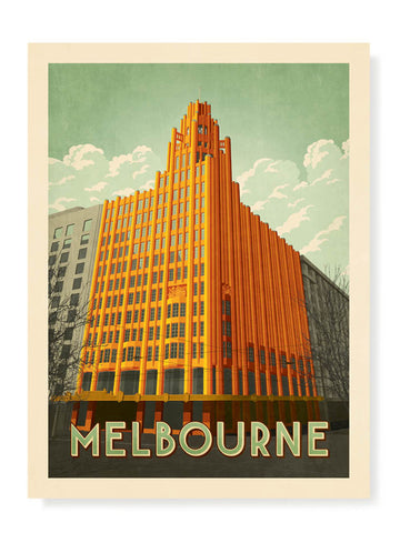 Manchester Unity Building Print