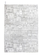 Melbourne Buildings Tea Towel