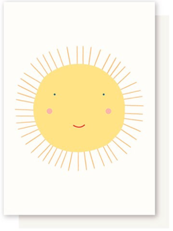 Sunshine, Smily Sun Card