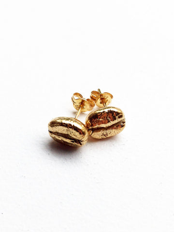 Espresso Love Coffee Bean Studs
