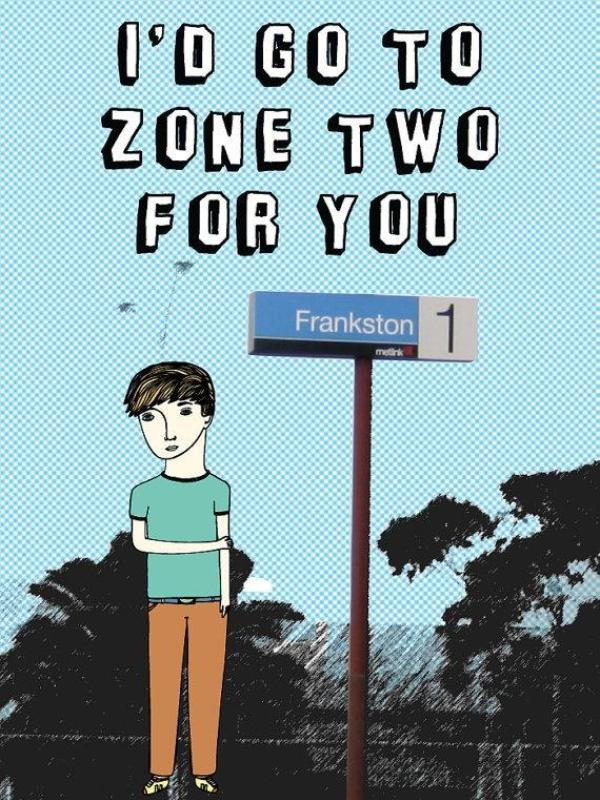 I'd Go To Zone Two For You Microfibre Cloth