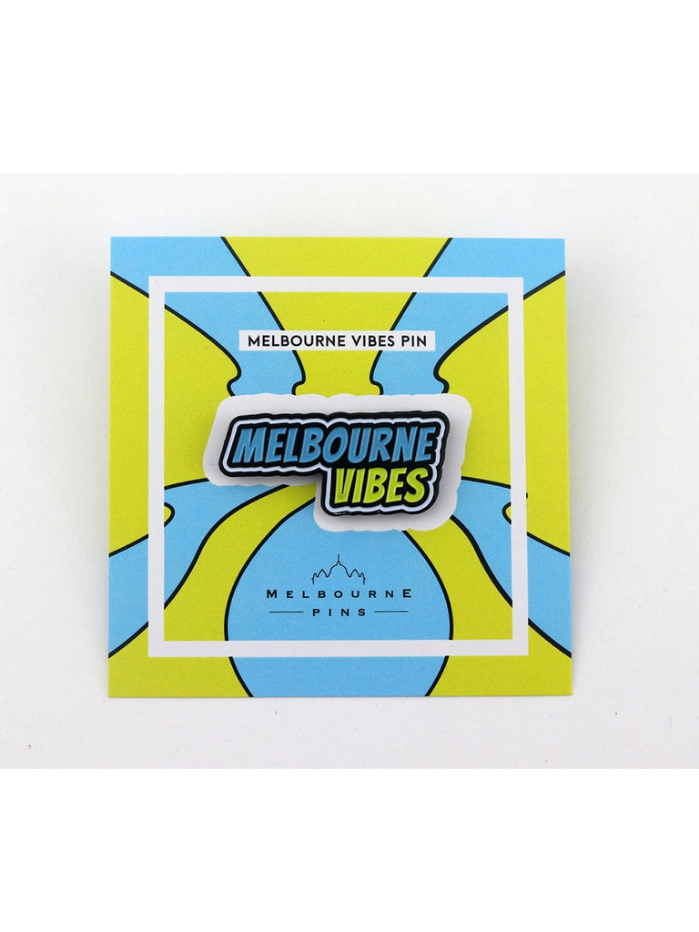 Melbourne Vibes Pin