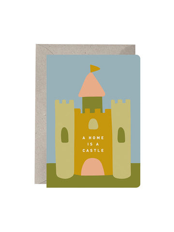A Home Is A Castle Card