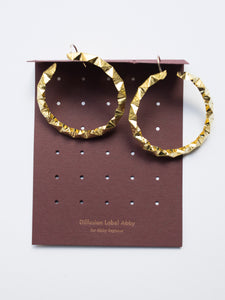 Banksia Hoop Earrings