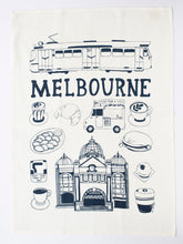 Load image into Gallery viewer, Melbourne Things Tea Towel