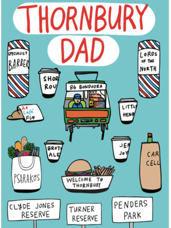 Thornbury Dad Card