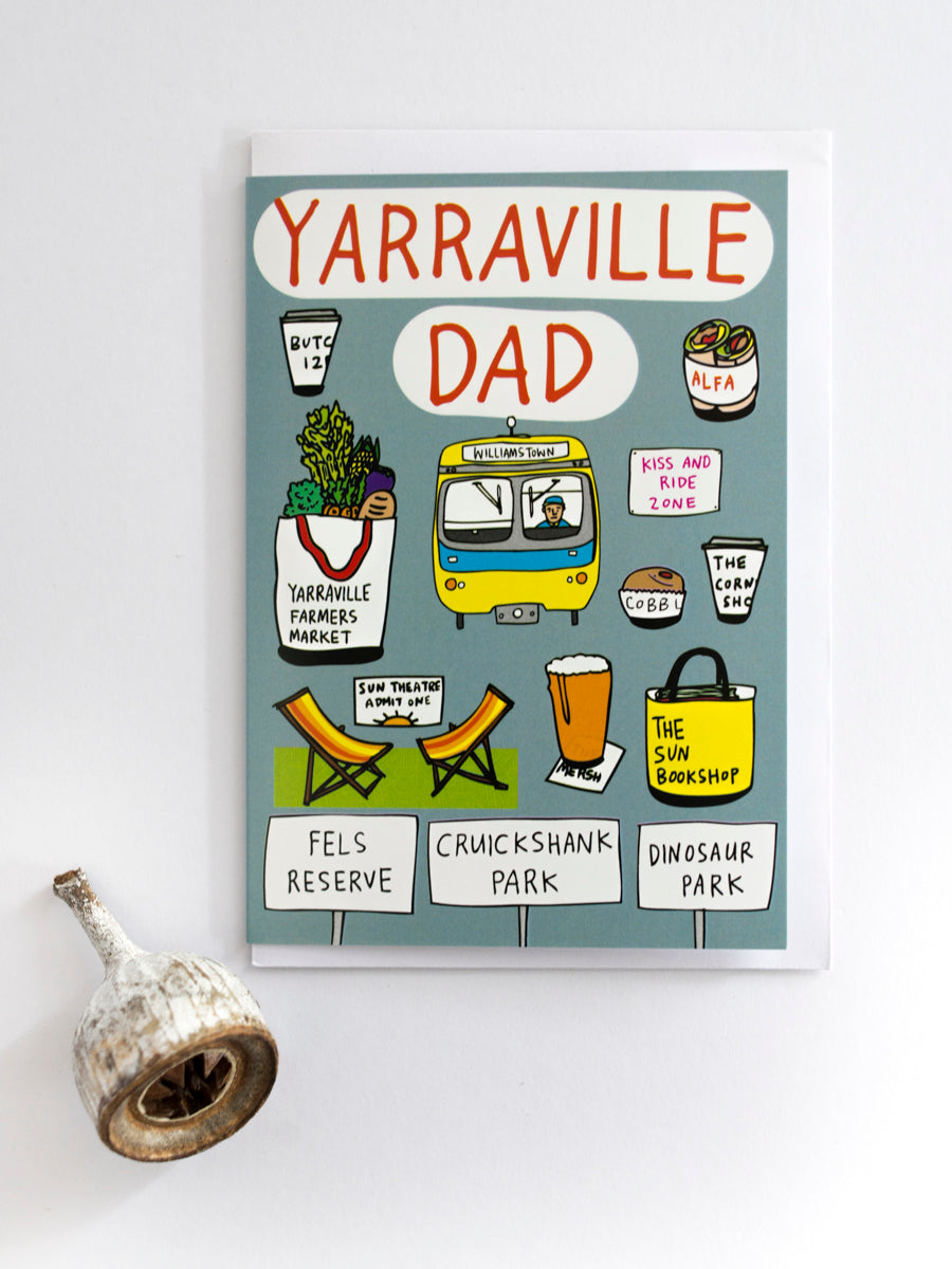 Yarraville Dad Card