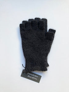 Penelope Durston  Angora and Lambswool Fingerless Gloves