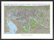 Load image into Gallery viewer, The Melbourne Map