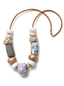 Donatella Big Bead Necklace