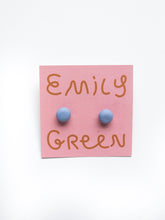 Load image into Gallery viewer, Emily Green Block Colour Studs