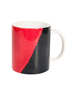 Fabric of Football Jumpers Mug