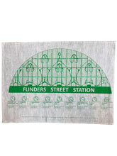 Load image into Gallery viewer, Flinders Street  Station Tea Towel
