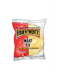Four'N'Twenty Pie Print