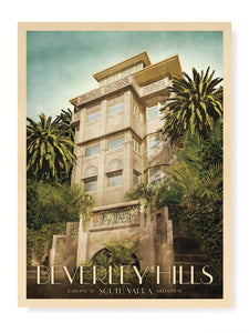 Beverley Hills Apartments, South Yarra Print