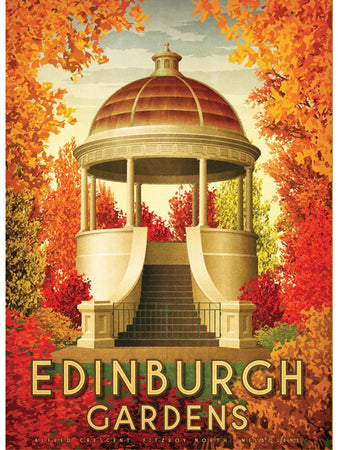 Edinburgh Gardens Postcard
