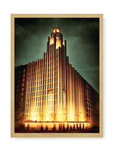 Manchester Unity Building at Night Print