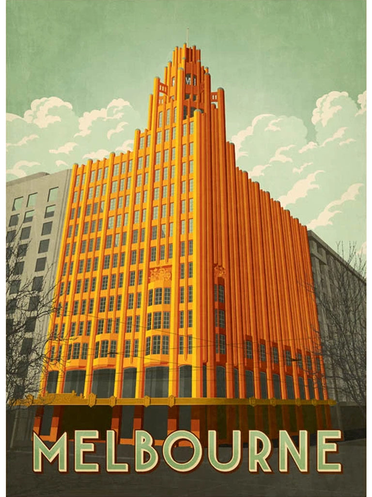 Manchester Unity Building Postcard