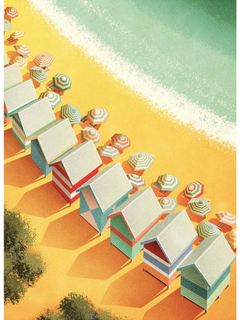 Mornington Peninsula,  Victoria (Beach Boxes) Postcard