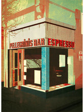 Load image into Gallery viewer, Pellegrinis Espresso Bar Postcard